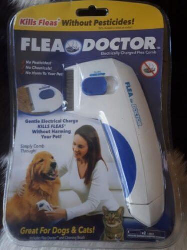 Elektrický hřeben proti blechám pro psy a kočky photo review